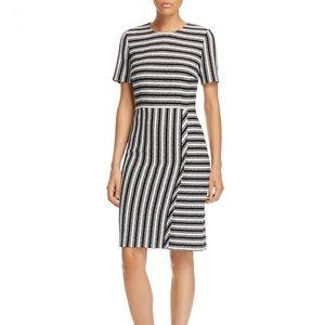 NEW • Boss • Haripela Striped Sheath Dress 10